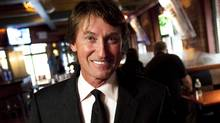 Wayne Gretzky poses in his restaurant in Toronto Thursday, September 9, 2010. The former Oilers star is opening a restaurant in September at Edmonton International Airport. (Darren Calabrese/THE CANADIAN PRESS)