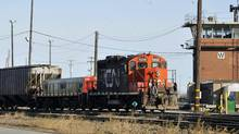 CN beats forecasts for first-quarter profit (Graham Hughes/The Canadian Press)