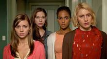 Damsels in Distress is a comedy about a trio of beautiful girls as they set out to revolutionize life at a grungy American university.