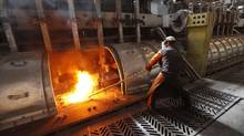 An aluminum smelter in Russia. Powerful emerging players like China and Russia are already shifting in a big way from primary manufacturing to higher-margin products, part of a growing worldwide shift to the use of aluminum in non-traditional areas. (ILYA NAYMUSHIN/REUTERS/ILYA NAYMUSHIN/REUTERS)