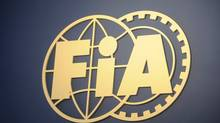Logo of the International Automobile Federation (FIA)