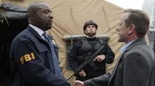Kiefer Sutherland (right) is Tom Kirkman in Designated Survivor.