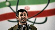 Iranian President Mahmoud Ahmadinejad: If the Iranian regime has to give up its hold on power, there will be no deal. (Hasan Sarbakhshian/AP)