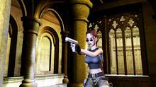 """This undated handout from Eidos Interactive, shows a screenshot of character Lara Croft in the game """"Tomb Raider: Angel of Darkness,"""" the sixth title in the """"Tomb Raider"""" series. (AP)"""