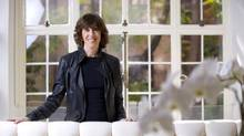 Nora Ephron poses for a photo in New York on Nov. 3, 2010. (Jimmy Jeong for The Globe and Mail)