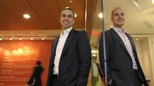 Patrick Bliley, left, and Josh Book. (Fred Lum/Fred Lum/The Globe and Mail)