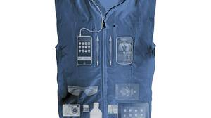 Inside the ScotteVest: What it lacks in fashion sense it makes up in storage space.