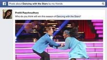 """In a post on the social giant's """"Newsroom"""" it showcased the new ability to search by topic – such as """"posts about Dancing with the Stars by my friends"""" – and also by place or time (for example, """"Posts written at The White House"""")."""