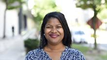 Economics graduate Kishawna Peck got valuable knowledge about the job market was accepted into the Business Council of Canada summit. (Fred Lum/The Globe and Mail)