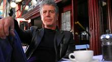 Anthony Bourdain, TV host and author (The Travel Channel)