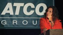 File photo of Atco president and CEO Nancy Southern. (Jeff McIntosh/The Canadian Press)