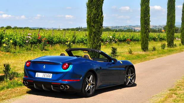 2015 Ferrari California T (Michael Bettencourt for The Globe and Mail)