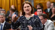 Minister of Health Jane Philpott speaks in the House of Commons on Parliament Hill in Ottawa on May 15, 2017. (Sean Kilpatrick/THE CANADIAN PRESS)