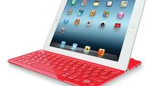 Logitech's Ultrathin Keyboard Cover for iPads. (Logitech)
