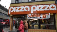 A Pizza Pizza outlet. (Fred Lum/The Globe and Mail)
