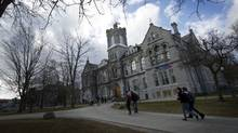 Citing financial shortfalls, Queen's University is suspending enrolment to its Bachelor of Fine Arts program. (Kevin Van Paassen/The Globe and Mail)