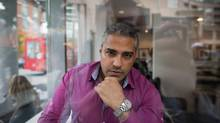 Journalist Mohamed Fahmy, who was imprisoned in Egypt for nearly two years, poses for a photograph at a coffee shop after an interview with The Globe and Mail about his new book 'The Marriott Cell', in Vancouver, B.C., on Tuesday November 8, 2016. Darryl Dyck/The Globe and Mail (DARRYL DYCK For The Globe and Mail)
