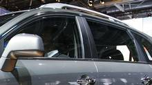 An SUV at the Paris Auto Show, Thursday, Sept. 28, 2006.
