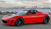 TESLA ROADSTER: This EV is already on sale. A small, two-seat sports car running on thousands of cellphone batteries, the Tesla roadster can do 0-100 km in 3.9 seconds and has a top speed approaching 200 km/h. (Tesla)