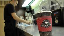 Second Cup has been losing ground for years to coffee powerhouses Starbucks, Tim Hortons and McDonald's. (J.P. MOCZULSKI For The Globe and Mail)