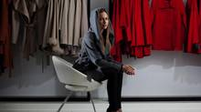 Clothing designer Bojana Sentaler is hiring her first employee. (Michelle Siu For The Globe and Mail)