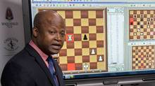 Maurice Ashley on day two of the inaugural Sinquefield Cup held at the Chess Club and Scholastic Center of Saint Louis on Sept. 10, 2013.