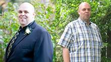 Andrew Griffin of Waterloo lost 82 pounds