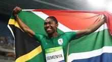 So. African runner Caster Semenya