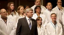 Prime Minister Stephen Harper (Peter Power/Peter Power/The Globe and Mail)