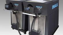 An Imax digital projector.