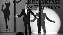"Singer Andy Williams performs the nominated song ""Moon River"" (from ""Breakfast At Tiffany's) at the 1961 (34th) Academy Awards ceremony in Los Angeles in this handout photo. Williams, who charmed audiences with his mellow delivery of songs like ""Moon River"" and ""Can't Take My Eyes Off of You"" in the 1950s and 60s, has died at his home in Branson, Missouri, his family said September 26, 2012. He was 84. (REUTERS)"