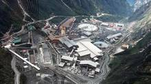 Freeport-McMoran Cooper & Gold's Grasberg mine in Indonesia's Papua province. (INDONESIA/REUTERS)