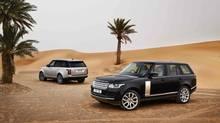2013 Range Rover. (Land Rover)