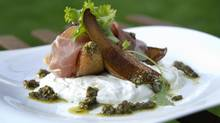 Roasted Pear and Proscuitto Salad (Kevin Van Paassen/The Globe and Mail)