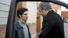 Left to Right: Malik (Tahar Rahim), Sampierro (Pierre Leccia). Photo taken by Roger Arpajou �� 2008, Courtesy of Sony Pictures Classics