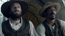 Armie Hammer, left, and Nate Parker, are shown in a scene from The Birth of a Nation. (Elliot Davis/THE CANADIAN PRESS)