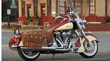 The Indian Chief is one of three models for 2012 from the company, now owned by Polaris Industries. (Indian)