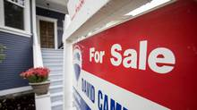 Home shoppers seeking an insured mortgage face a higher standard in proving they can afford the payments, under new federal rules. First-time buyers and young families are particularly affected. (Ben Nelms/The Globe and Mail)