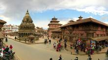 Patan Durbar Square, the central plaza where Om first approached the writer. (Mark Bessoudo)
