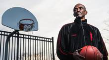 Halifax Rainmen basketball coach Craig Hodges was on Dennis Rodman's North Korea team, but was turned away at the border because he didn't have the proper paperwork. (SCOTT MUNN FOR THE GLOBE AND MAIL)