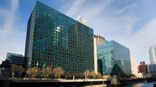Ivanhoé Cambridge grows its presence in Chicago's West Loop district with the purchase of twin office buildings 10 and 120 South Riverside Plaza. (Hand-out/IVANHOÉ CAMBRIDGE)