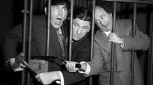 The original Three Stooges: Moe Howard, Shemp Howard and Larry Fine. Casting continues for the movie remake. (Courtesy Everett Collection/Courtesy Everett Collection)