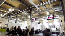 The Tannery District in downtown Kitchener is the home to many new and innovative tech companies whose prosperity and innovation is due to a culture that is collaborative as much as it is competitive. (Peter Power/Peter Power/The Globe and Mail)