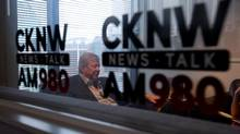 CKNW Radio talk show host Bill Good sits for an interview with The Globe and Mail in Vancouver, B.C., on Wednesday July 23, 2014. Good is retiring and his last show will be on August 1. The radio DJ who once asked Premier Christy Clark a question using a vulgar term that refers to a sexually desirable woman will be anchoring a four-hour evening show weekdays on CKNW as part of a newly announced lineup. (DARRYL DYCK For The Globe and Mail)