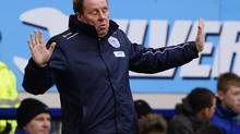 Queens Park Rangers' coach Harry Redknapp reacts (NIGEL RODDIS/REUTERS)