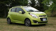 2013 Chevrolet Spark (Bob English for The Globe and Mail)