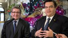 Montreal Mayor Denis Coderre says Montreal should be involved in all negotiations and lawsuits against companies that defrauded the city and the province. (Jacques Boissinot/The Canadian Press)