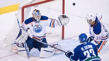 Perhaps no player, not even Connor McDavid, is more responsible for the Oilers' hottest start in 30 years than goaltender Cam Talbot. (DARRYL DYCK/THE CANADIAN PRESS)