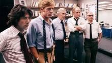 Many journalists are inspired by films like All the President's Men but get their start in campus media. (AP)