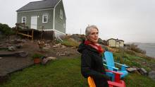 An OPP investigation found that missing RCMP pension funds were returned because of the actions of then-deputy commissioner Barbara George, seen here at her home in Trinity, NL. (Paul Daly)